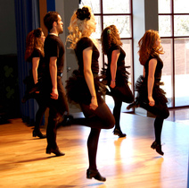 Her Irish step dance adult beginner classes
